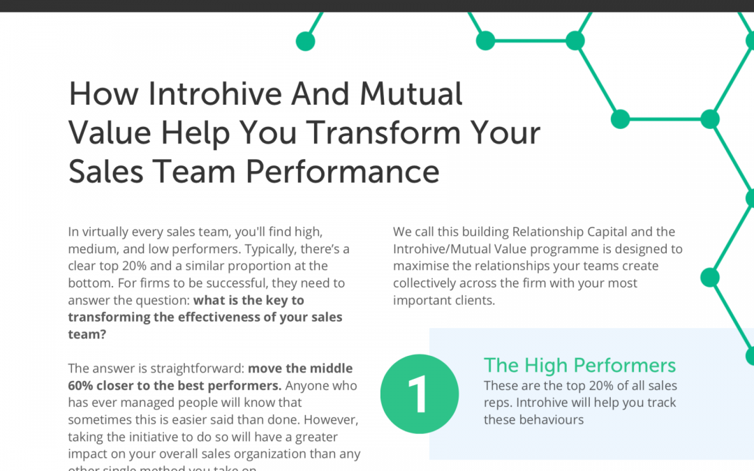 How to double your professional sales: white paper and webinar