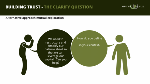 The Clarify Question